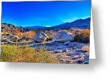 California Wilderness Panorama Greeting Card