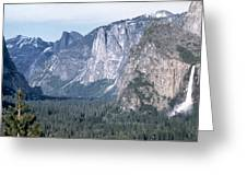 California: Yosemite Valley Greeting Card