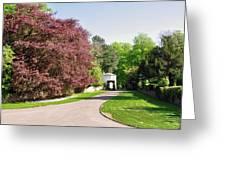 Calke Abbey Entrance - Ticknall Greeting Card