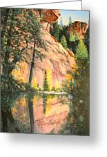 Call Of The Canyon Greeting Card