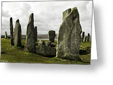 Callanish Stones Greeting Card