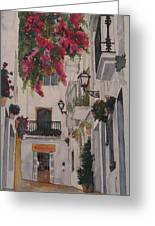 Calle Espanola Greeting Card