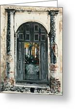 Calle Tapachula - 2 Doors Open Greeting Card