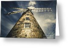 Callington Mill In Oatlands Tasmania Greeting Card
