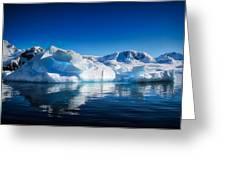 Calm Ice Greeting Card