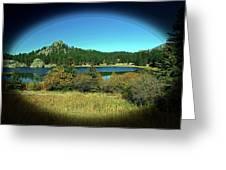 Calm Lake Greeting Card
