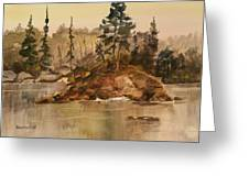 Calm Waters Greeting Card