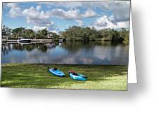 Caloosahatchee Kayaking Greeting Card