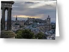 Calton Hill - Edinburgh Greeting Card