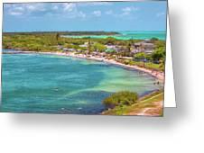 Calusa Beach Greeting Card