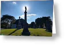 Calvary Catholic Cemetery Greeting Card
