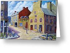 Calvet House Old Montreal Greeting Card