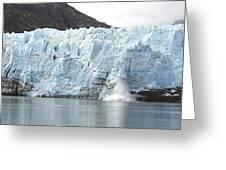 Calving Glacier Greeting Card