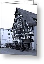 Calw A History Laden Town 01 Greeting Card