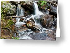 Calypso Cascades White Water Greeting Card