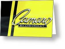 Camaro Greeting Card