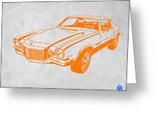 Camaro Greeting Card by Naxart Studio