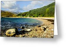 Camasnacroise Loch Linnhe Greeting Card