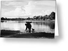 Cambodia: Angkor, 1960 Greeting Card