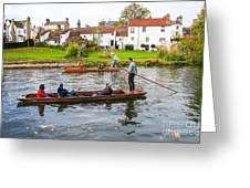 Cambridge 3 Greeting Card