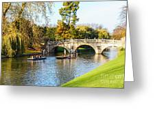 Cambridge 4 Greeting Card