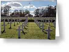 Cambridge American Cemetery Greeting Card