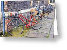 Cambridge Bikes 1 Greeting Card