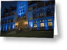 Cambridge City Hall Cambridge Ma Greeting Card