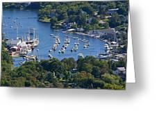 Camden Harbor Greeting Card