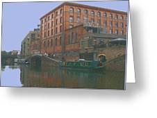 camden lock London Greeting Card