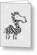 Camel Black Star Greeting Card