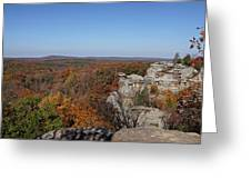 Camel Rock In Autumn Greeting Card