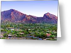 Camelback Mountain, Phoenix, Arizona Greeting Card