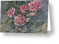 Camellias Greeting Card