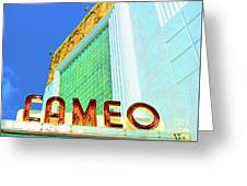 Cameo Theatre Greeting Card