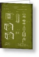 Camera Patent Drawing 2g Greeting Card