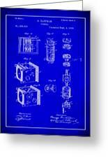 Camera Patent Drawing 2h Greeting Card