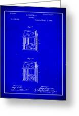 Camera Patent Drawing 3a Greeting Card