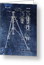 Camera Tripod Patent Greeting Card
