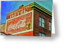 Cameron Patterson Hotel Greeting Card