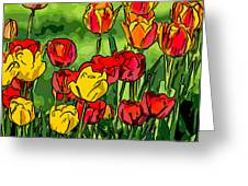 Camille's Tulips Greeting Card