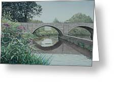 Camillus Canal Greeting Card