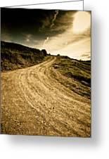 Camino Rural Greeting Card