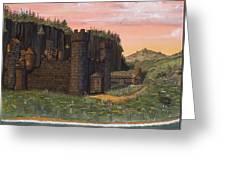 Camlochlin Castle Greeting Card by James Lyman