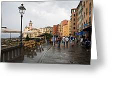 Camogli 3 Greeting Card