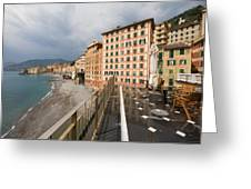 Camogli 4 Greeting Card