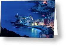 Camogli Sunrise - Camogli All'alba Greeting Card