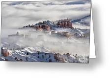 Camouflage - Bryce Canyon, Utah Greeting Card