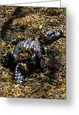Camouflage Greeting Card by Carol Groenen
