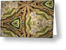 Camouflage Nature Greeting Card